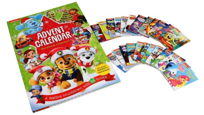Nickelodeon Storybook Advent Calendar