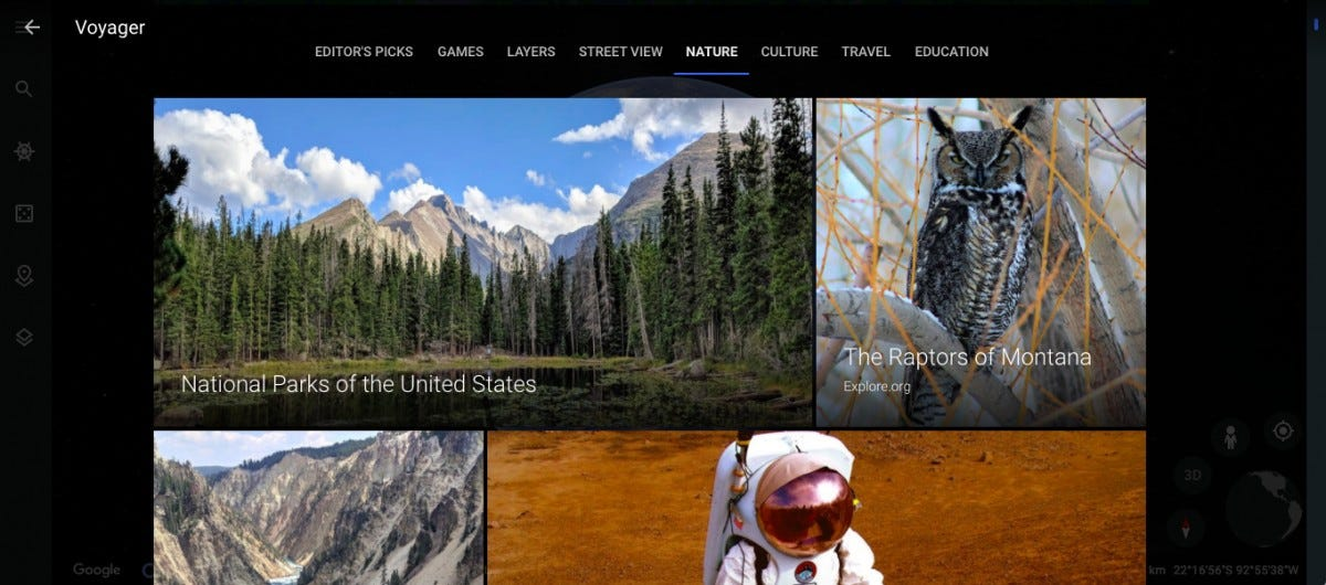 virtual national park