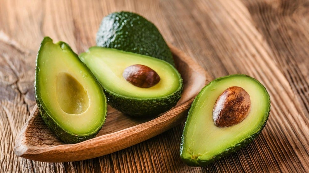 Avocados may help improve gut health.