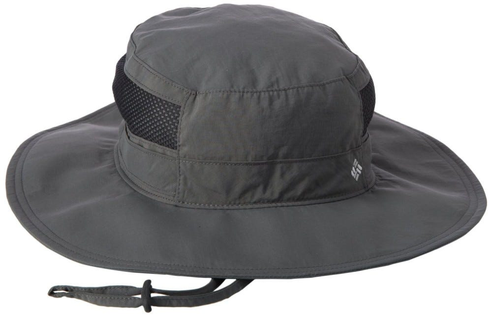 Columbia booney hat in gray.