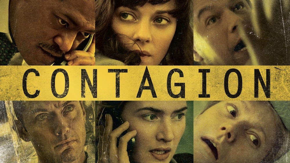 "Movie poster for ""Contagion."""
