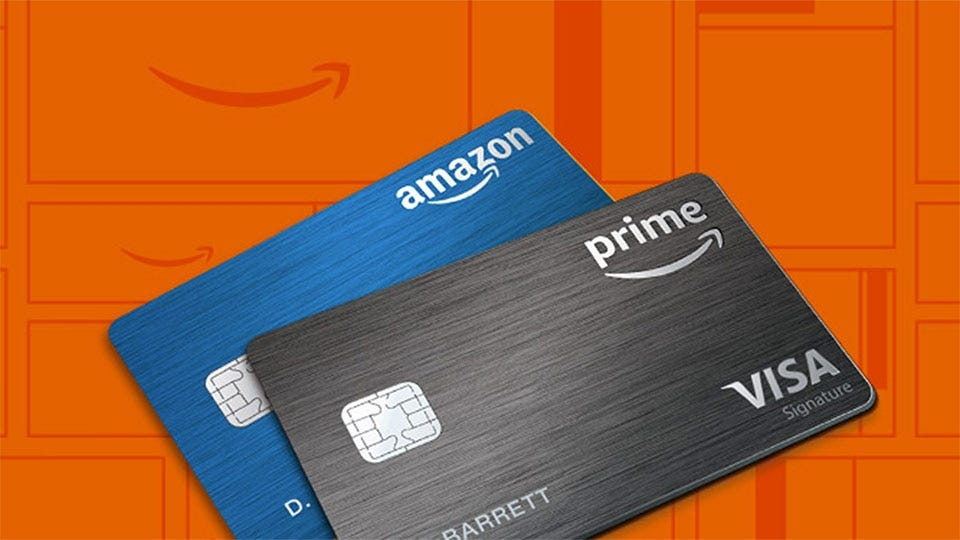 Example of Amazon Visa Cards