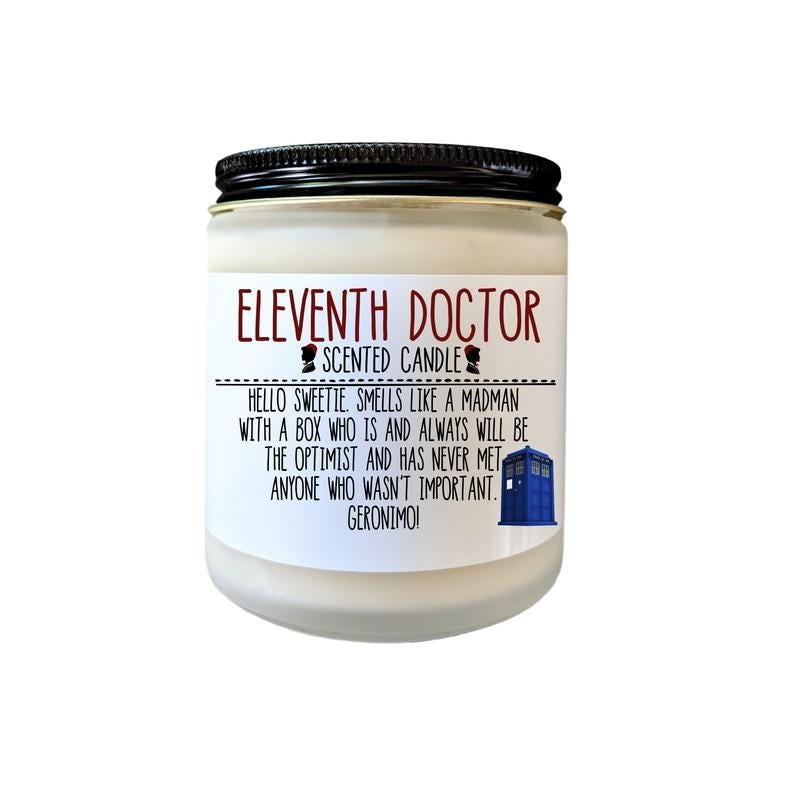 doctor who candle