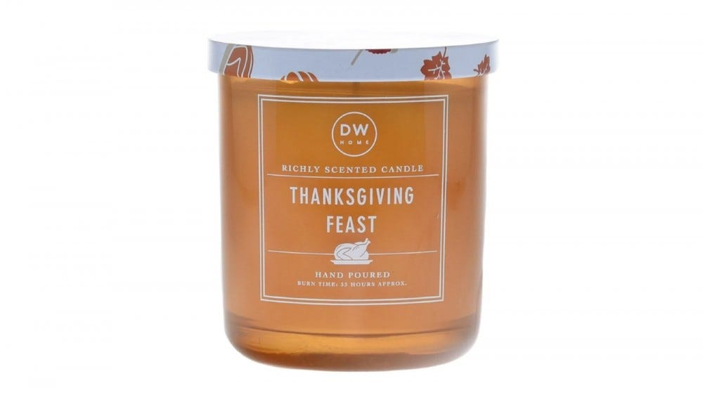 DW Home's Thanksgiving Feast candle.