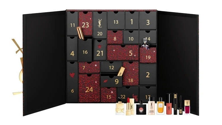 Yves Saint Laurent Advent Calendar