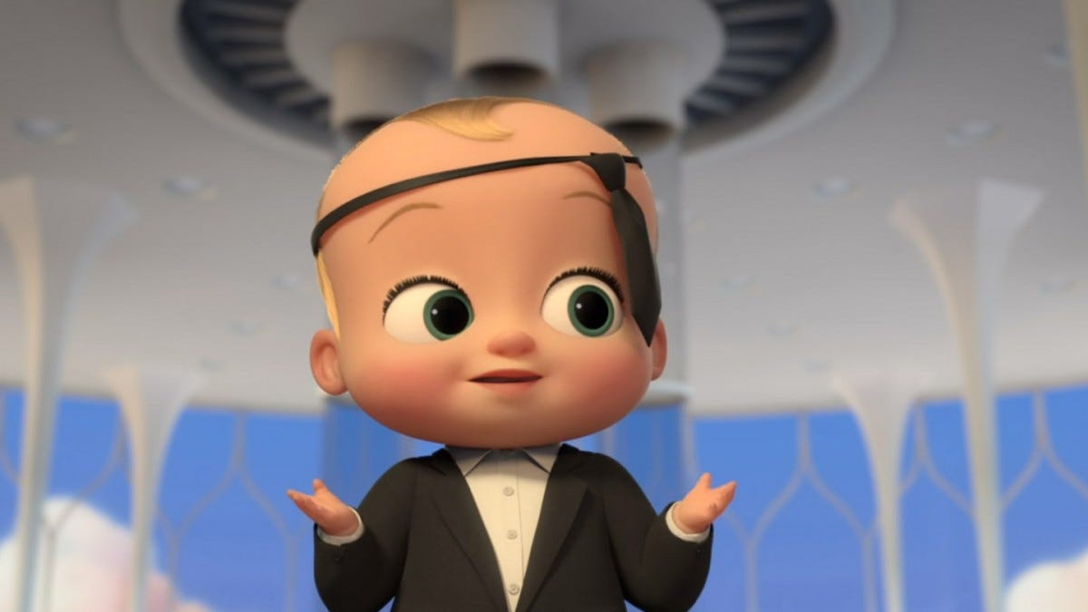 Screenshot from The Boss Baby's New Year's Eve Special