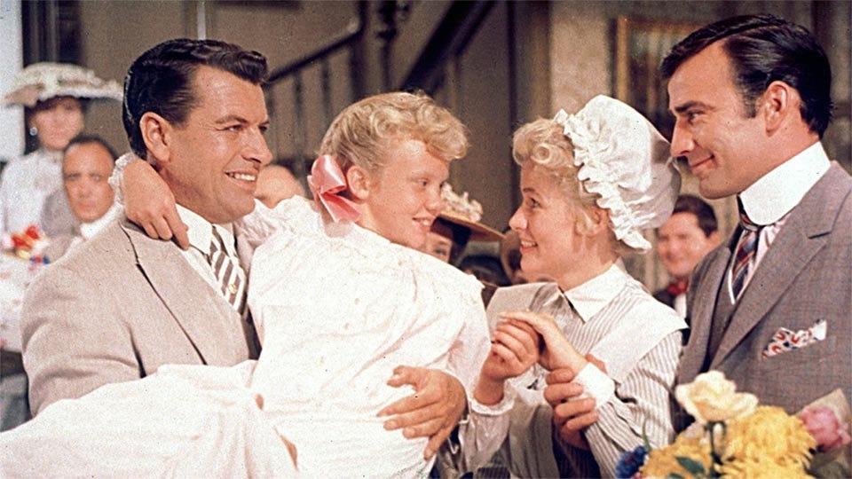Scene from the 1960 movie Pollyanna