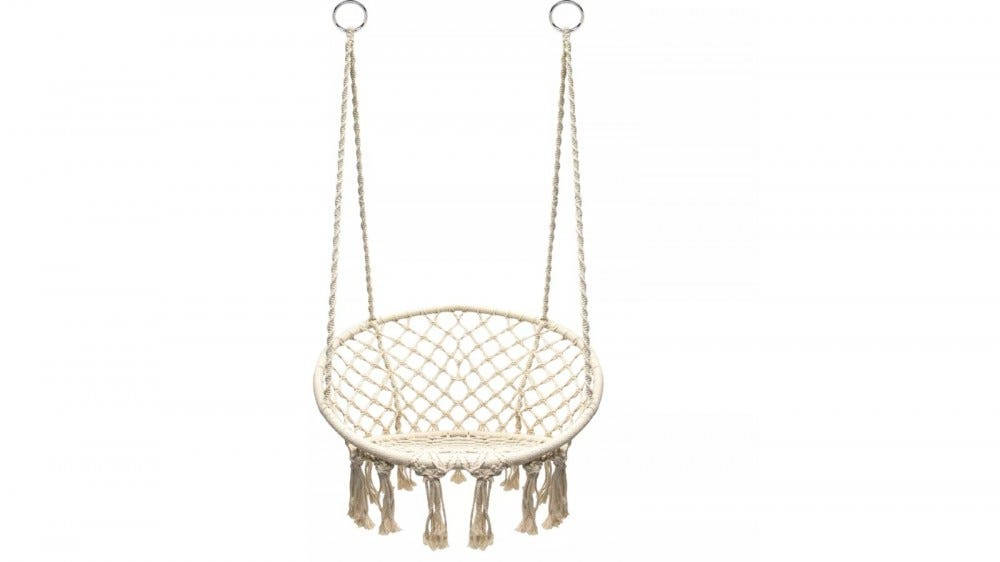 Sorbus Hanging Rope Chair