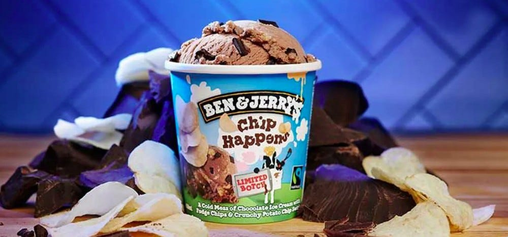 ben and jerry's potato chip
