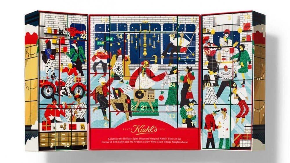 Kiehl's Limited Edition Skincare Advent Calendar