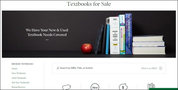 barnes and noble textbook rentals