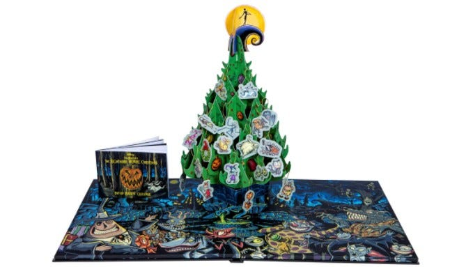 The Nightmare Before Christmas Pop-Up Advent Calendar.