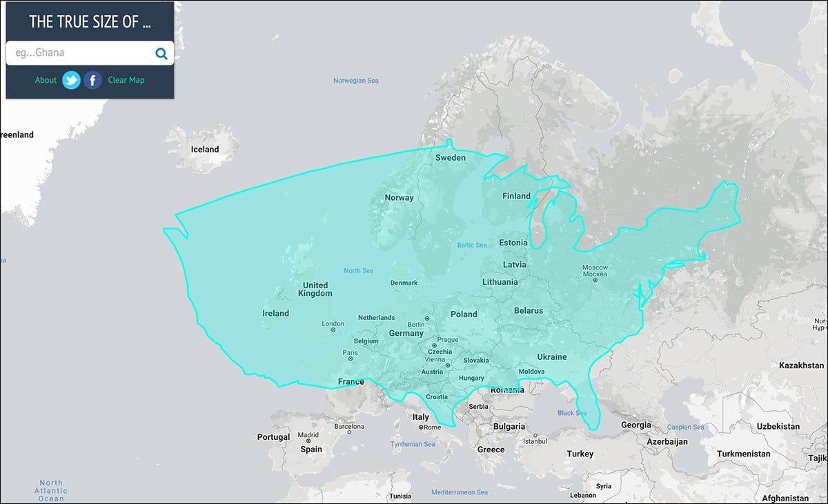 US europe size