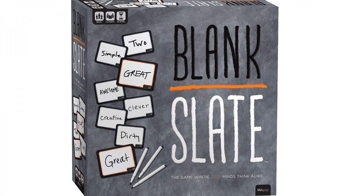 The Blank Slate game box.