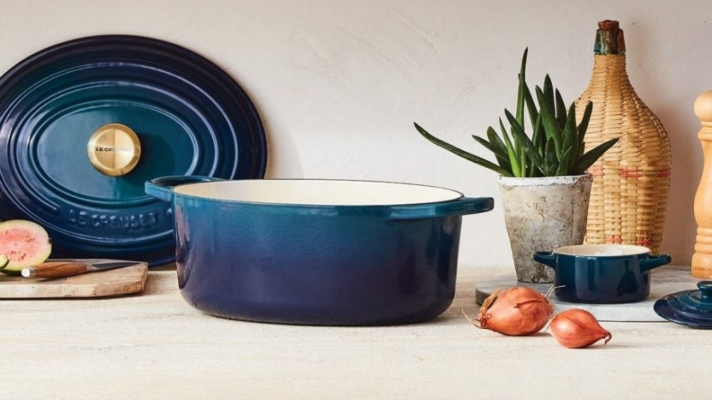 Le Creuset introduced a new shade in its famous dutch ovens.
