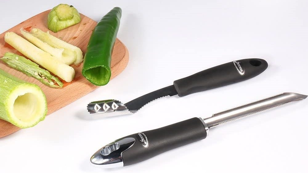 Corer combo is next to the fruits of their labor.