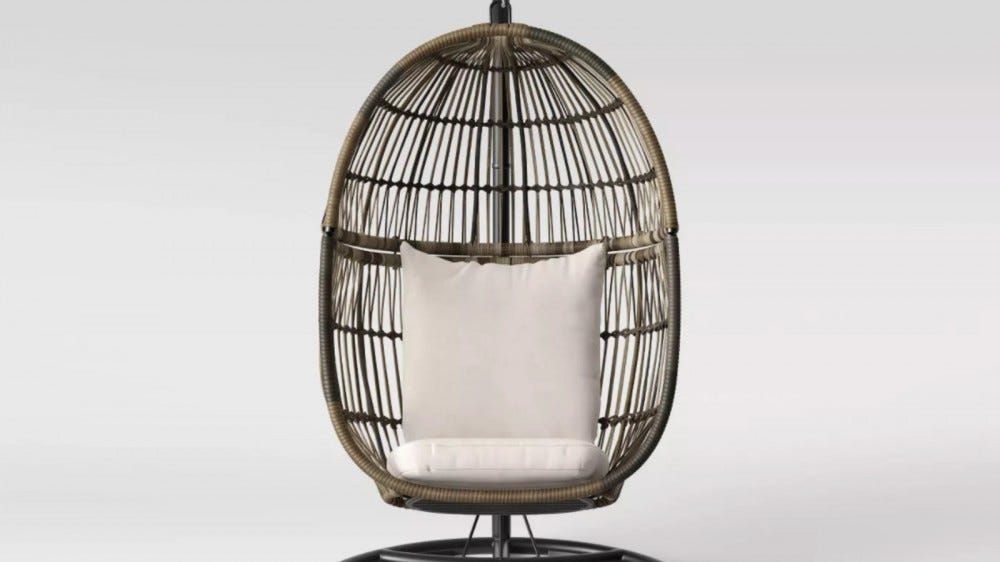 Latigo Patio Hanging Egg Chair
