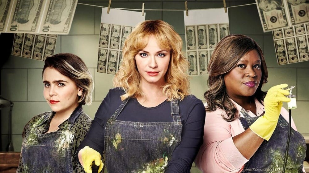 The cast of NBC show 'Good Girls.'