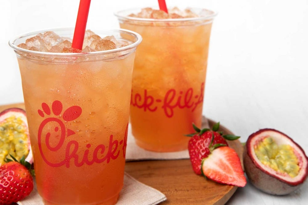 Chick-Fil-A's Mango Passion Tea Lemonade