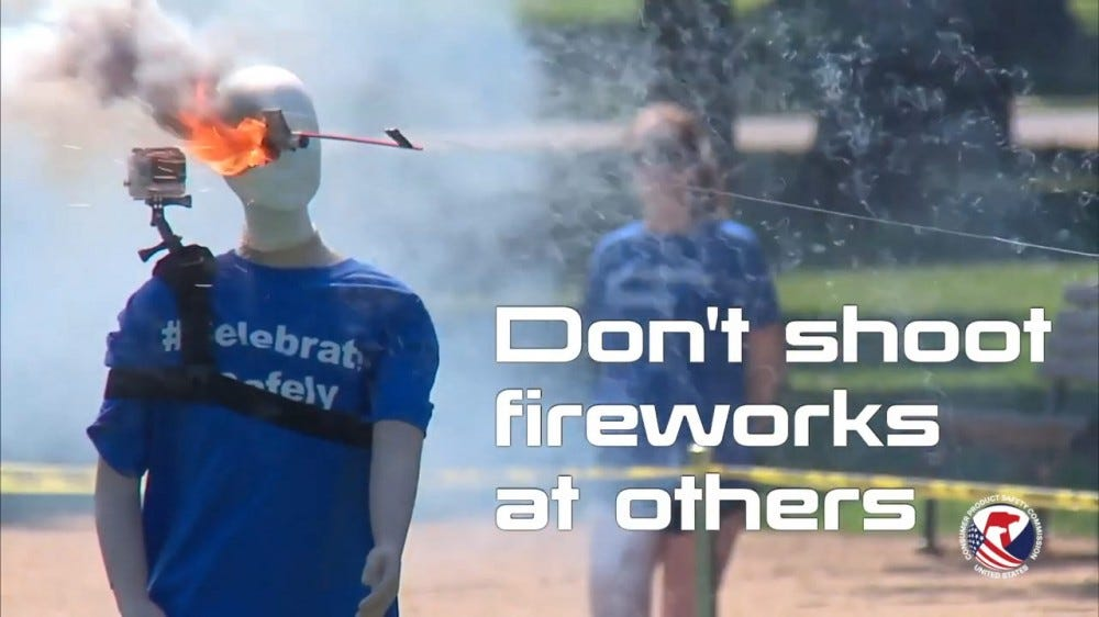 A screenshot from a U.S. CPSC safety video.