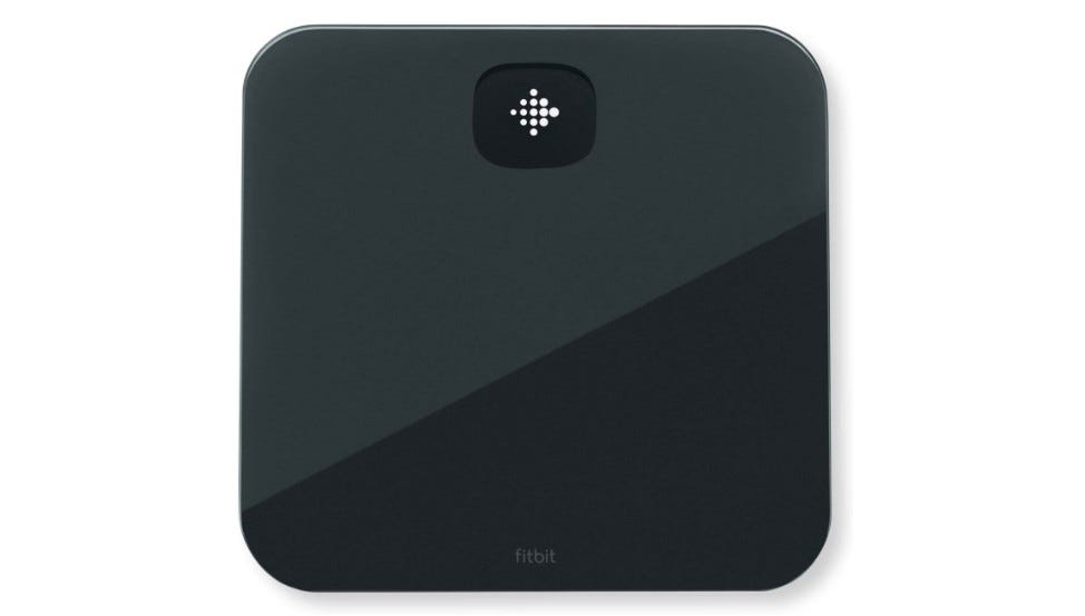 The Fitbit Aria Air smart scale.
