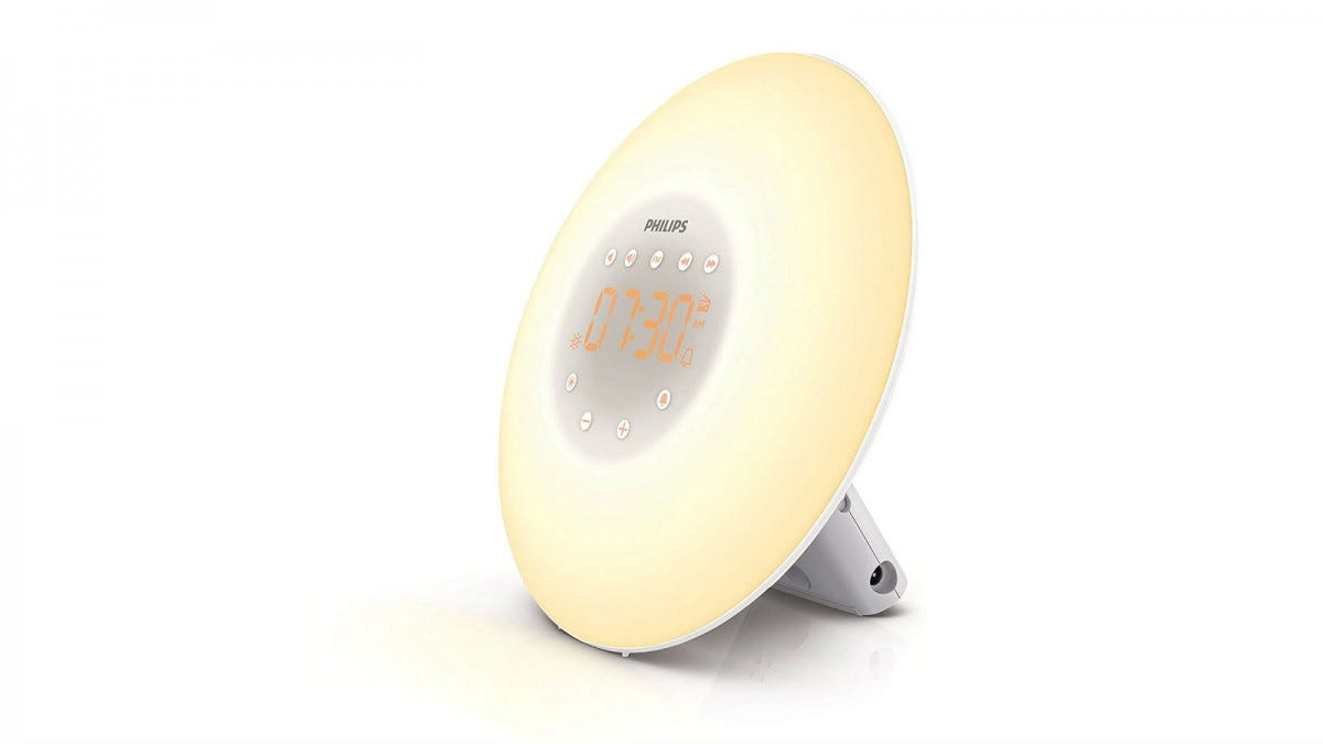 Philips Wake-Up Light Alarm Clock.