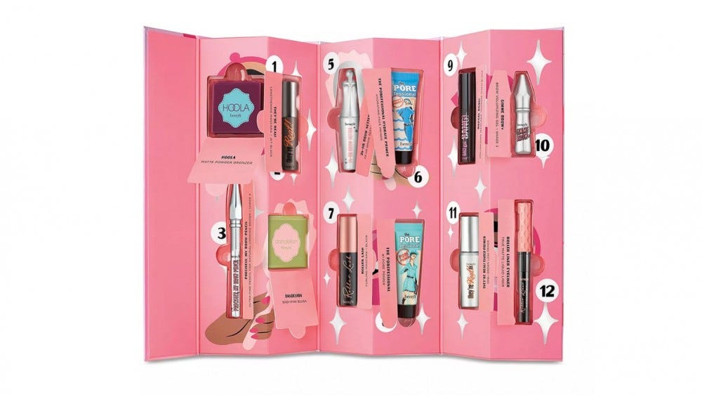 Benefit Cosmetics Shake Your Beauty Holiday Advent Calendar