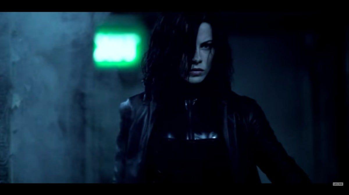 """Kate Beckinsale in """"Underworld."""""""