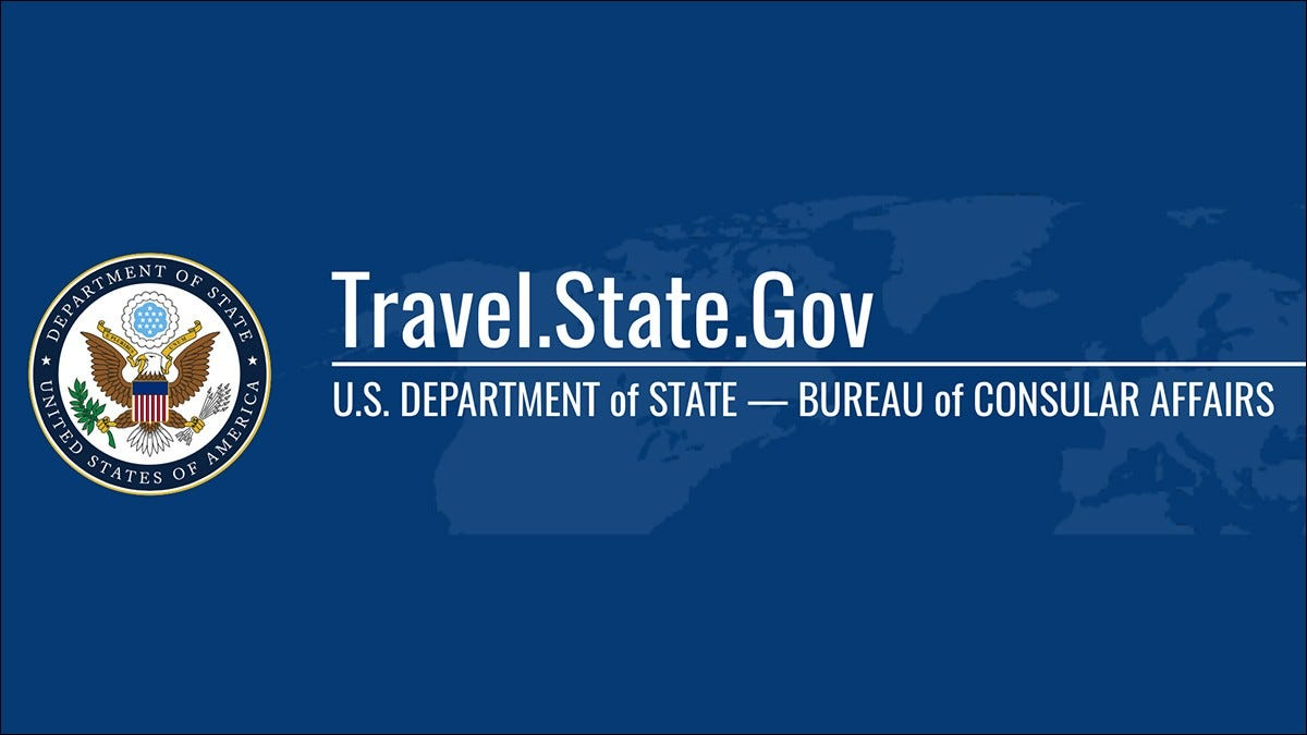 U.S. Department of State banner