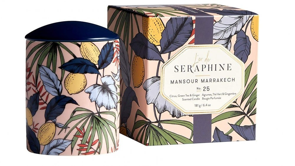 L'or de Seraphine Aromatherapy Energize Set