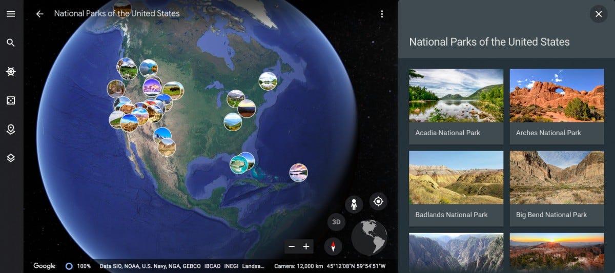 virtual national parks