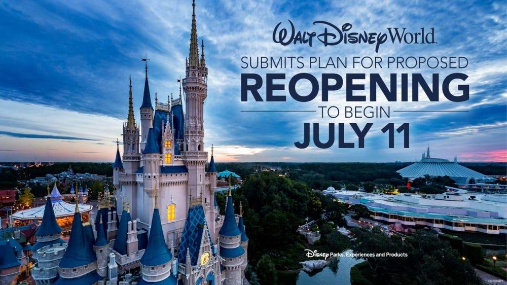 Cinderella's Castle at Walt Disney World.