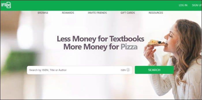 iflipd texbook rentals