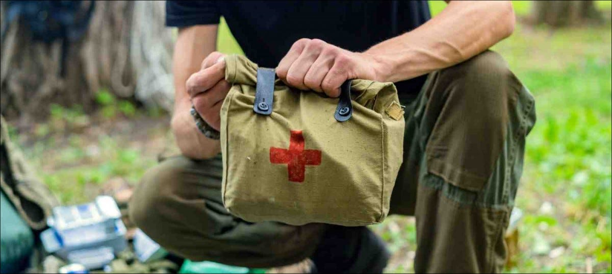 Military Medical Aid, first aid kit