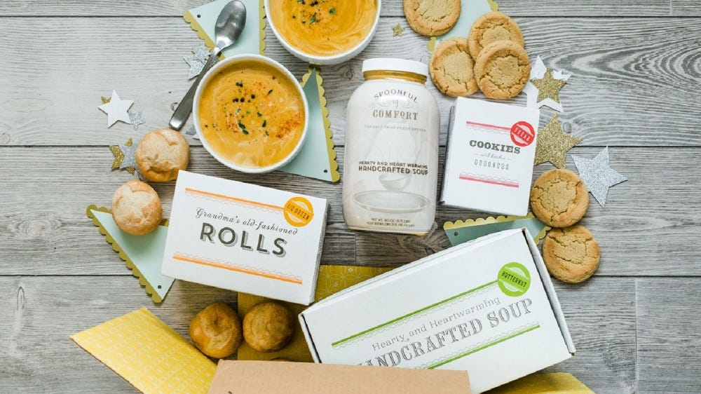 The Spoonful of Comfort New Parent Care Package.