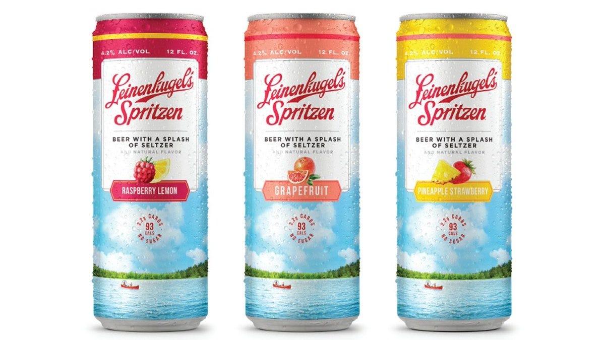 Leinenkugel's beer seltzer cans