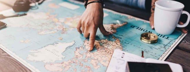 So planen Sie eine längere Reise